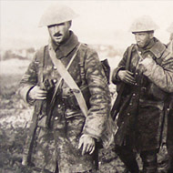 image of WWI soldiers